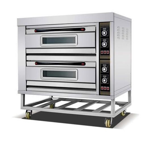 Lemarkz 2 Deck Gas, Electric Baking Oven Analogue