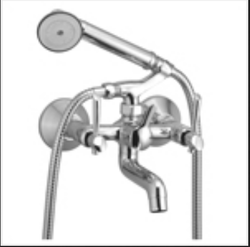 Wall Mixer Telephonic With Crutch Antic