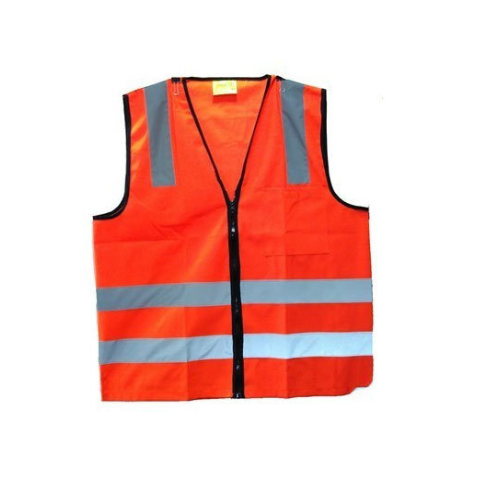 92898a143f Large And XL Orange Construction Safety Reflective Jackets ...