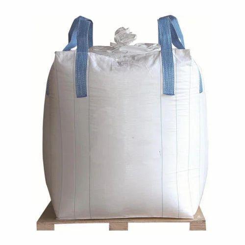 White Polypropylene Bulk Bag Shape Rectangle