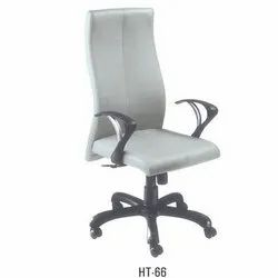 High Back White Executive Chair