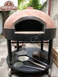 Round cast iron dome The Smoke Oven Catering, For Hotel
