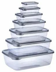 Rectangular Plastic Storage Container