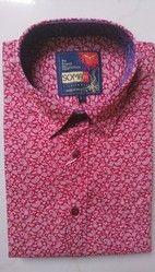 Men's Pure Cotton Printed Party Wear Shirt, Size: 40