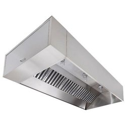Electric Steel Commercial Kitchen Exhaust Hood