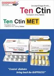 Teneligliptin 20mg, Packaging Type: Alu Alu, Prescription