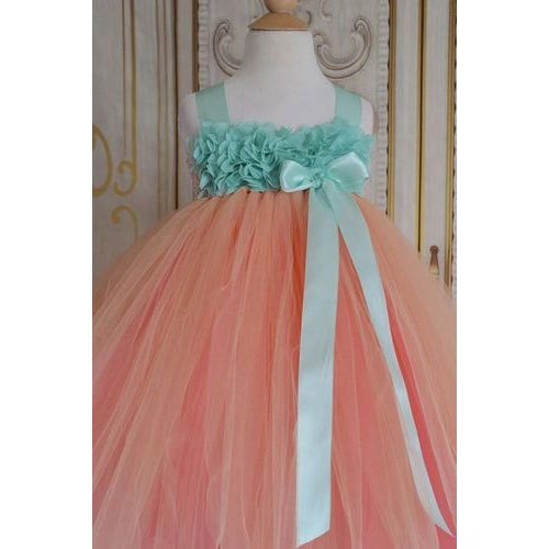 26c4917f8 Net Sky Blue, Pink Kids Tutu Dress, Rs 2800 /piece, Kanik Fashions ...