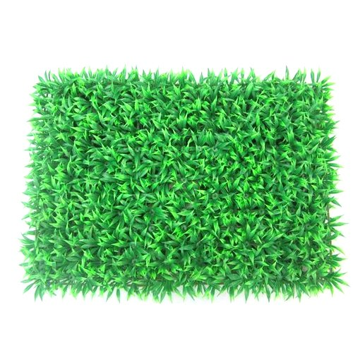 Green Rectangle PVC Turf Mat