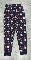 Full Length Cotton Trendy Night Pant for Womens