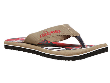 2429a1bc587 Synthetic Patapata Men Beige Chappals