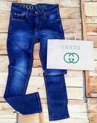 Denim Plain Mens Jeans, Waist Size: 28-34