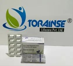Rabeprazole 20mg  Domperidone 30mg SR