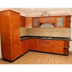 Plywood Kitchen Wardrobe