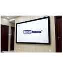 100 Inch Fixed Frame Projector Screen