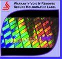 Warranty Hologram Void Remove Labels, Packaging Type: Export