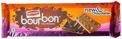 Cream Biscuits chocolate Britannia Bourbon, 150g, Packaging Type: Box