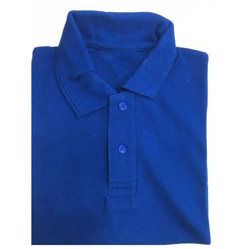 6779f836ad16 Men's Cotton Black Plain Polo T Shirt, Size: S-XXL, Rs 180 /piece ...