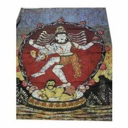 Multicolor Craft Bazaar Batik Wallhanging