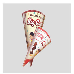 Kanhaiyya Big Cone Chocolate Ice Cream