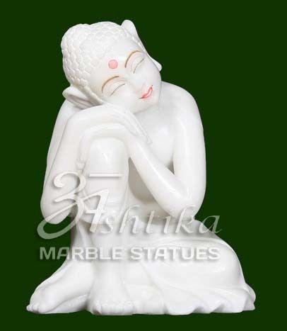 Viyatnam Marble Gautam Buddha Statue