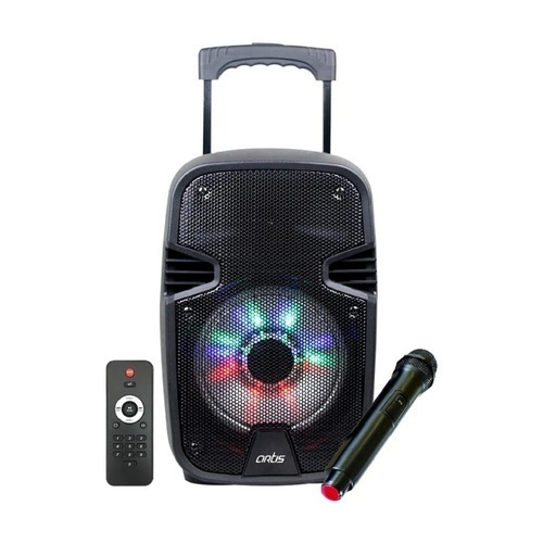 Black Artis Bt908 Trolley Bluetooth Speaker Model No Bt 908