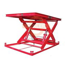 Scissor Lift Tables Single