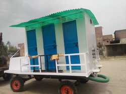 6 Seater Mobile Toilet Van