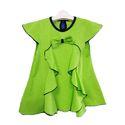Kids Girls Green Designer Top