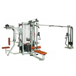 MG 1198 Dual 5 Station Commercial Multi Gym With Cross Over