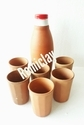 Clay Water Bottle Set