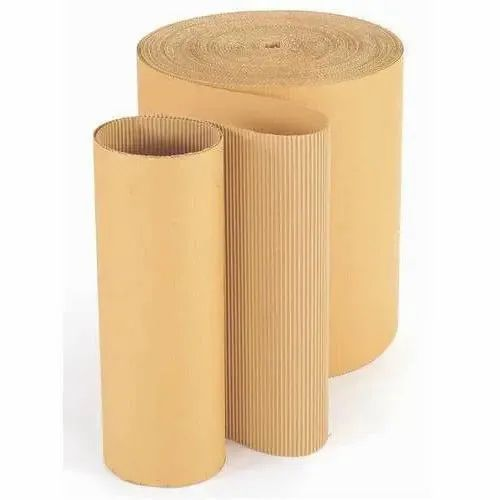 Brown Paper Corrugated Roll for Packaging