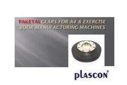 Paketal POM Gears For Machines