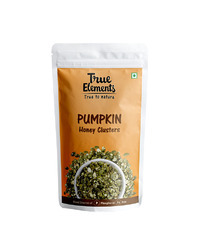True Elements Pumpkin Seeds Honey Clusters 30gm