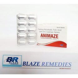 Blaze Remedies Animaze Tablets, Alu Alu