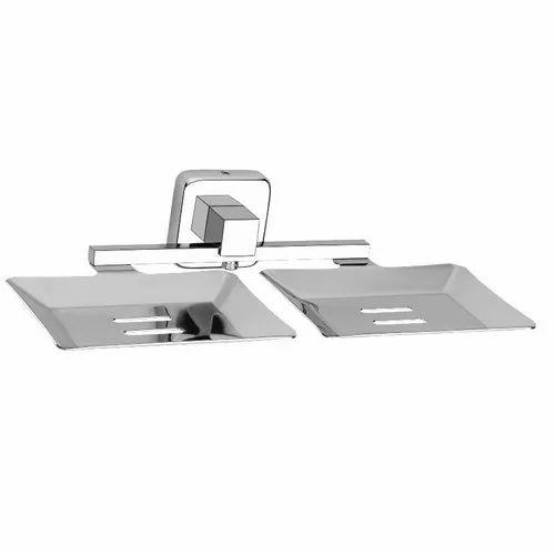 SS Bathroom Double Soap Dish
