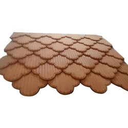 Decorative Flower Clay Roof Tile