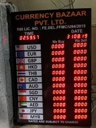 Currency Rate LED Display Board