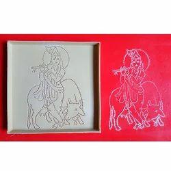 Krishna Dotted Rangoli