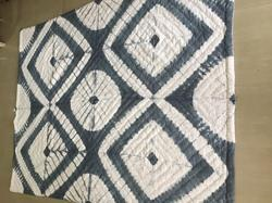 Grey Shibori Quilted Cotton Quilts