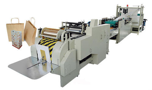 Automatic Three Phase Paper Bag Making Machine, Capacity: 100-120 Pieces  per hour, Rs 650000 /unit | ID: 20144502348
