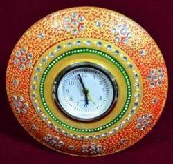 Painted Round Watch