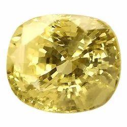 Fiery Natural Ceylon Yellow Sapphire