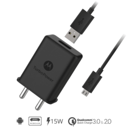 Compatible Original Charger For Motorola , Moto Turbo Charger