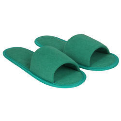 2f7e857f59 Dark Green Bathroom Slippers