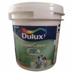 Dulux Super Cover Sheen Interior Emulsion Paint, Packaging Type: Plastic Bucket