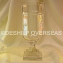 Deshilp Overseas More Color Available Clear Flower Vase, Size: More Size Available