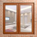 Combination Wooden Foiled Window