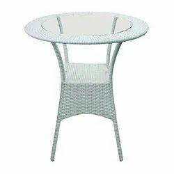 Rattan & Wicker Modern Round Table
