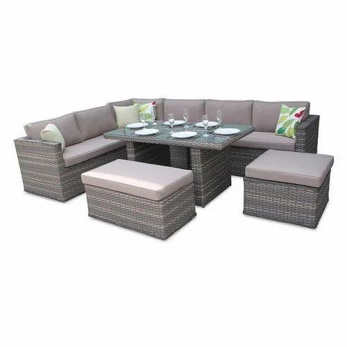Multicolor Dining Sofa Set Rs 25000, Sofa Dining Room Set