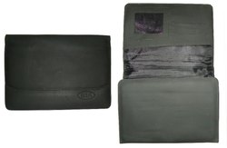 Leatherette Black Car Document holder file
